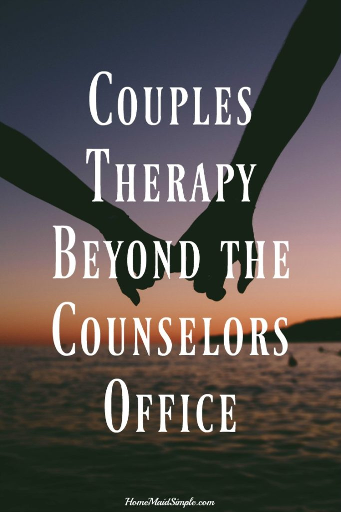 Couples Therapy beyond the counselors office.