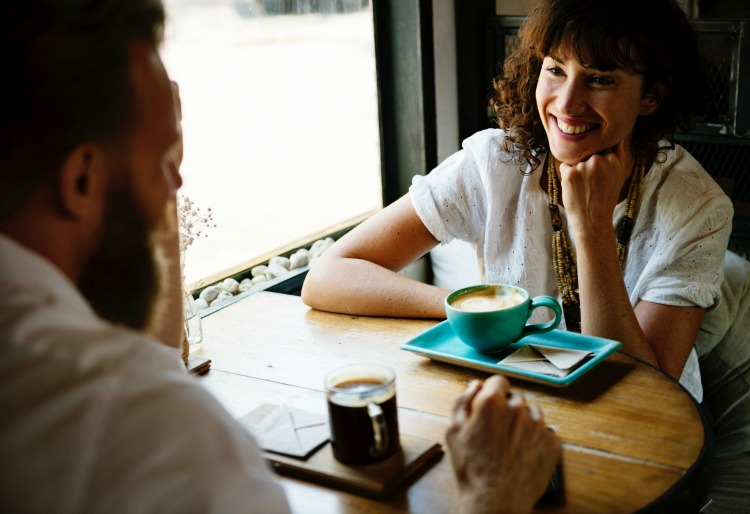 Make time for conversation as a couple, without distraction.