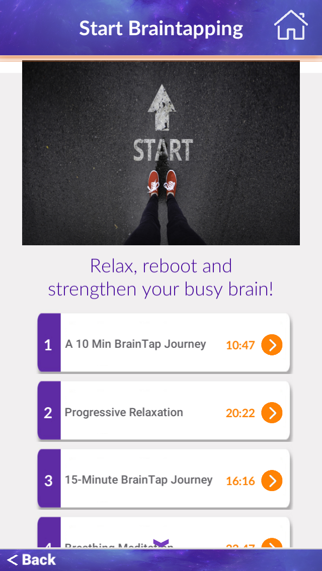 Start meditating with BrainTap. ad