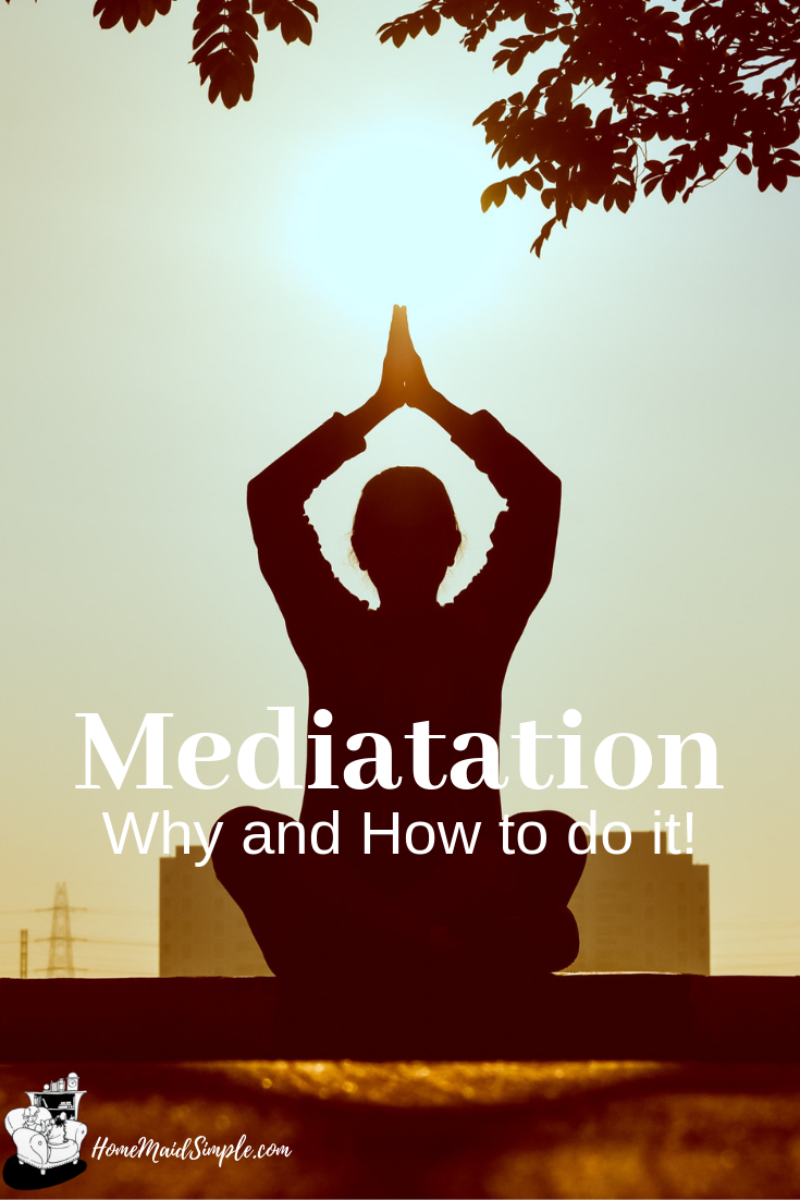 When life gets overwhelming, try a little meditation. Get the why's and hows to do it.
