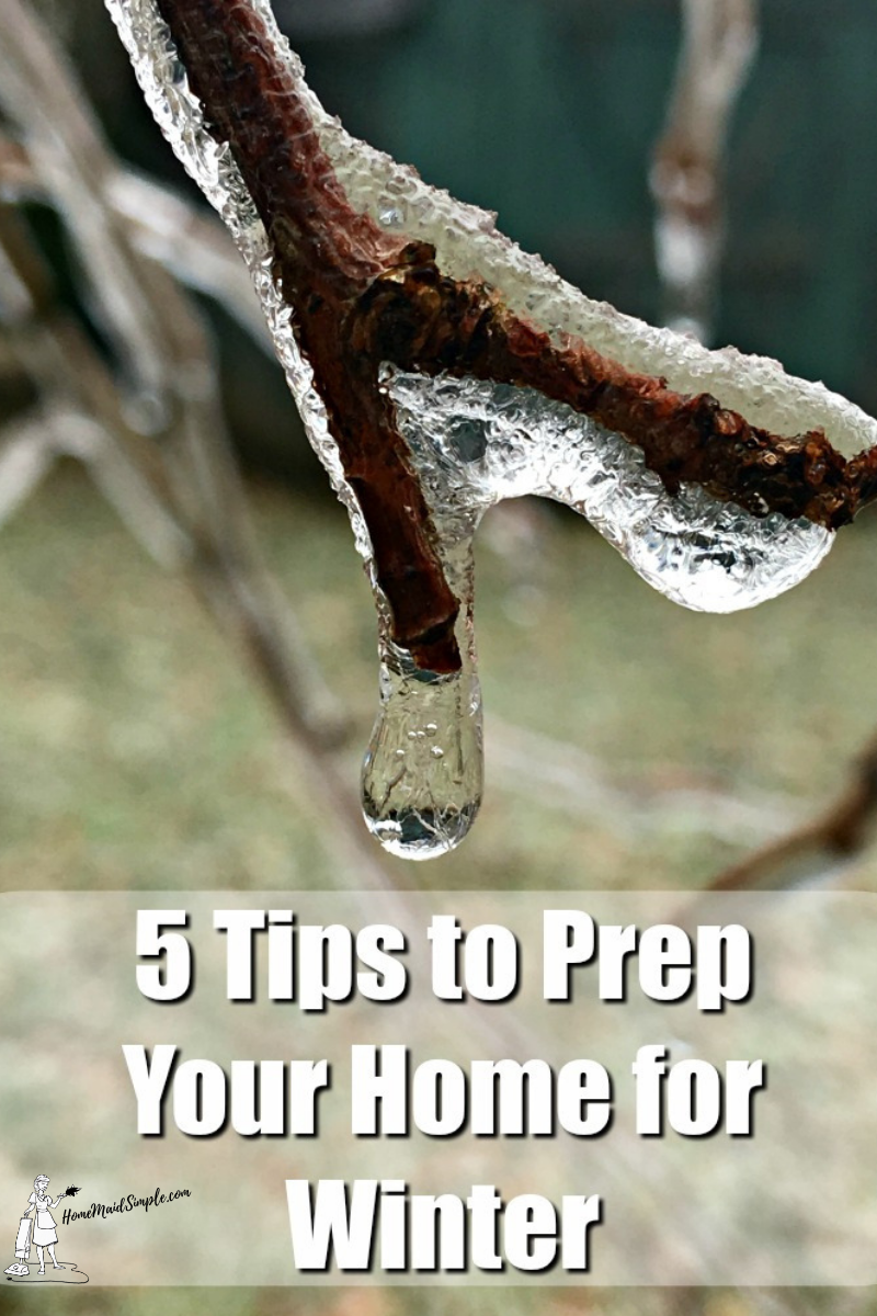 These 5 tips will help prepare your home for the winter