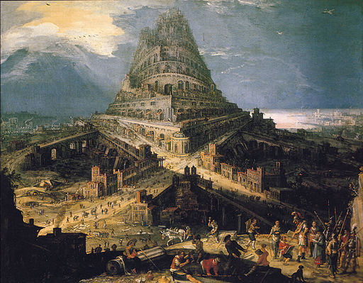 The Tower of Babel by Hendrick van Cleve