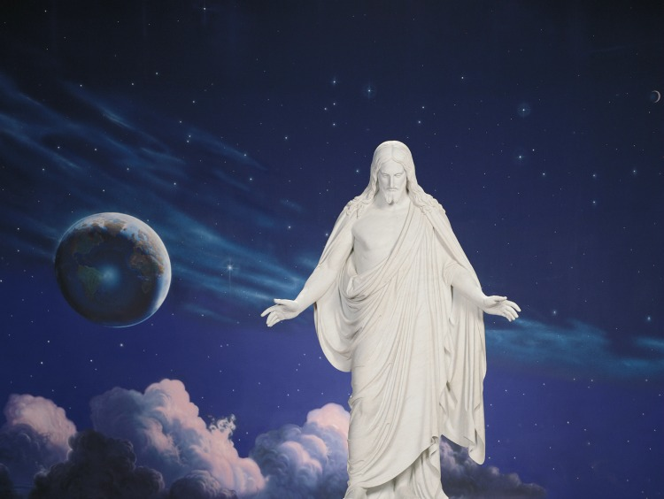 Come Unto Christ and feel His light.
