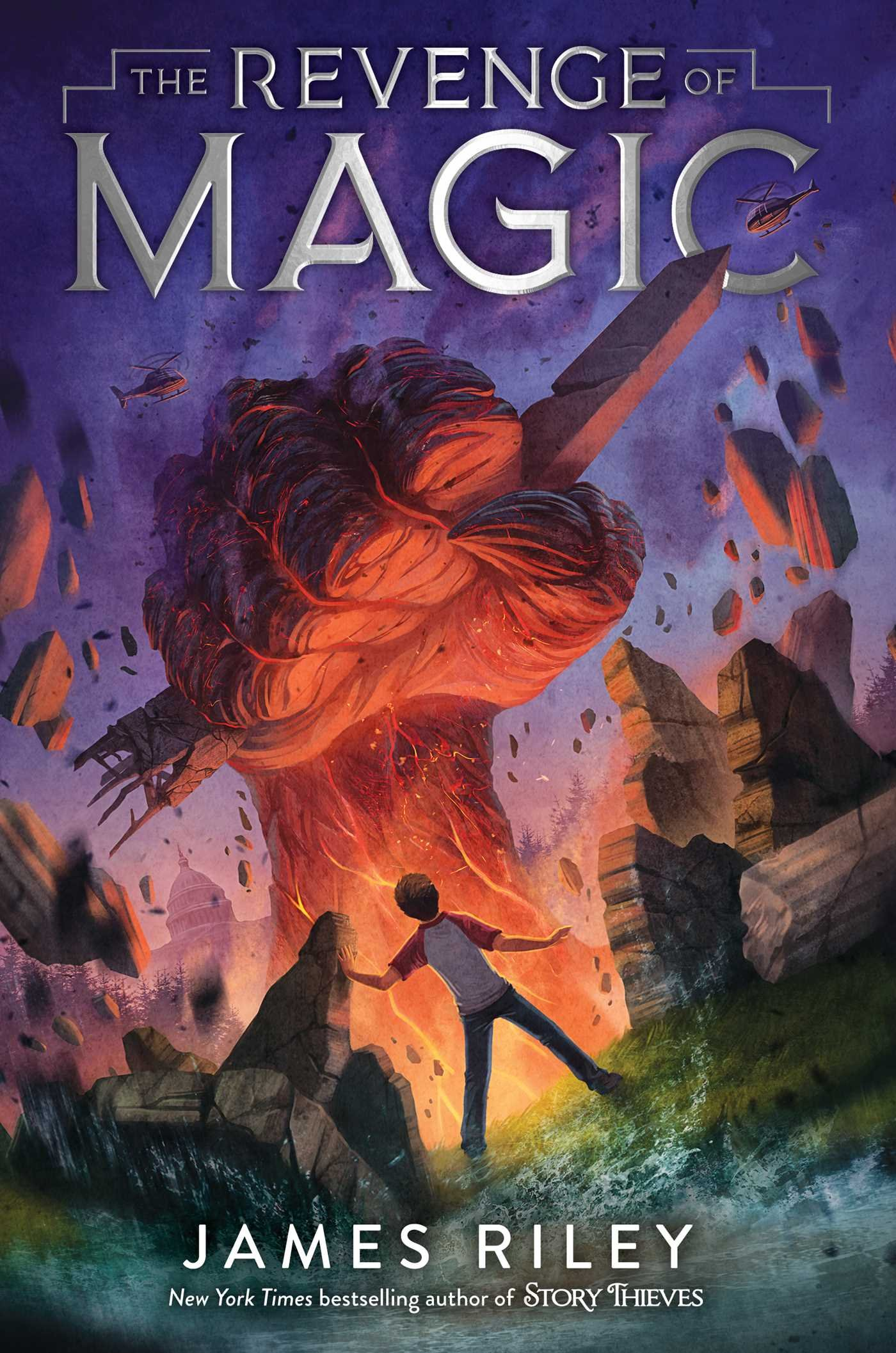 New book by James Riley: The Revenge of Magic