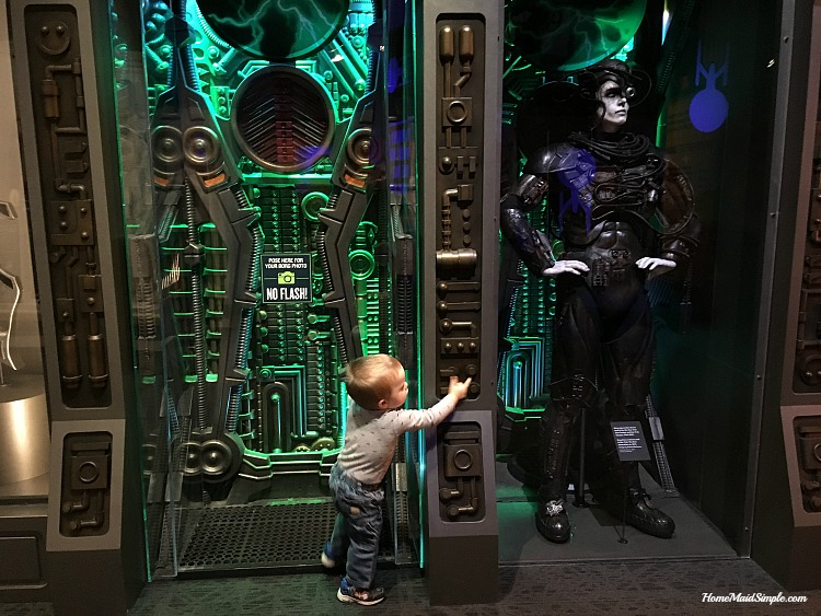 It's Borg time! Check out the Borg's in the Star Trek exhibit at The Children's Museum of Indianapolis