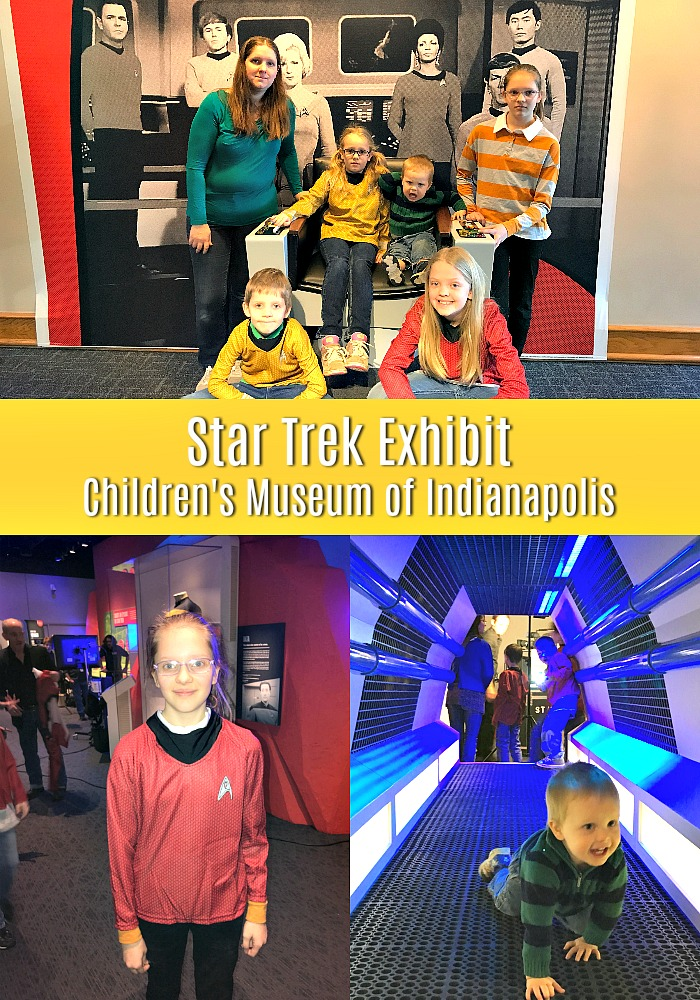 Check out the Star Trek exhibit at the Children's Museum of Indianapolis!