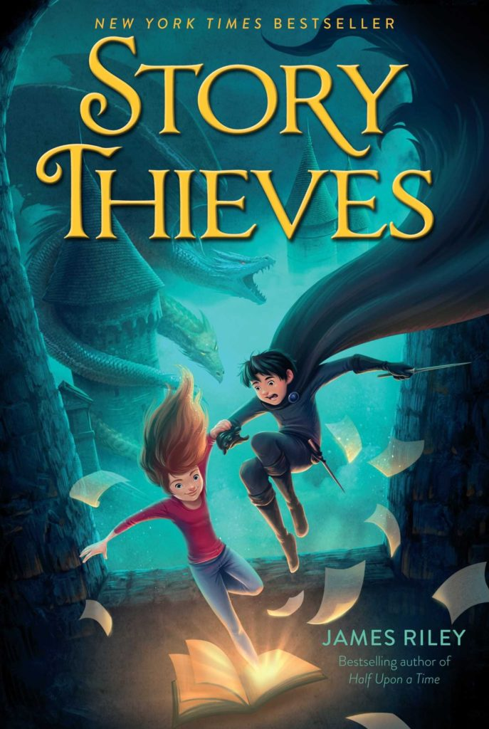 New York Times Best Seller: Story Thieves by James Riley