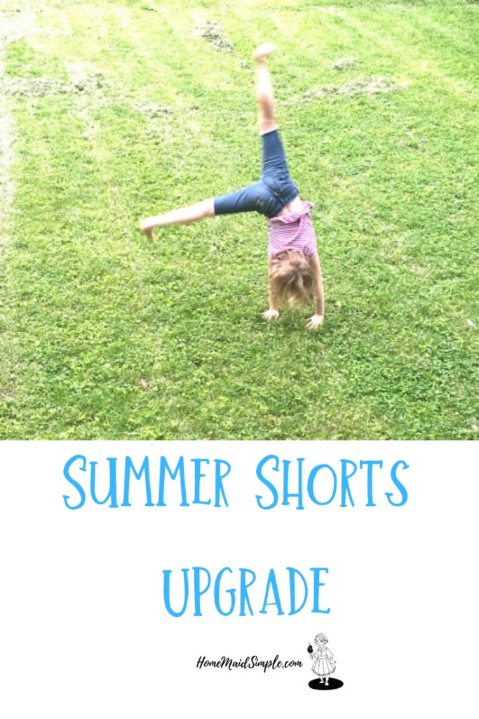 Upgrade your summer shorts with this easy kid activity.