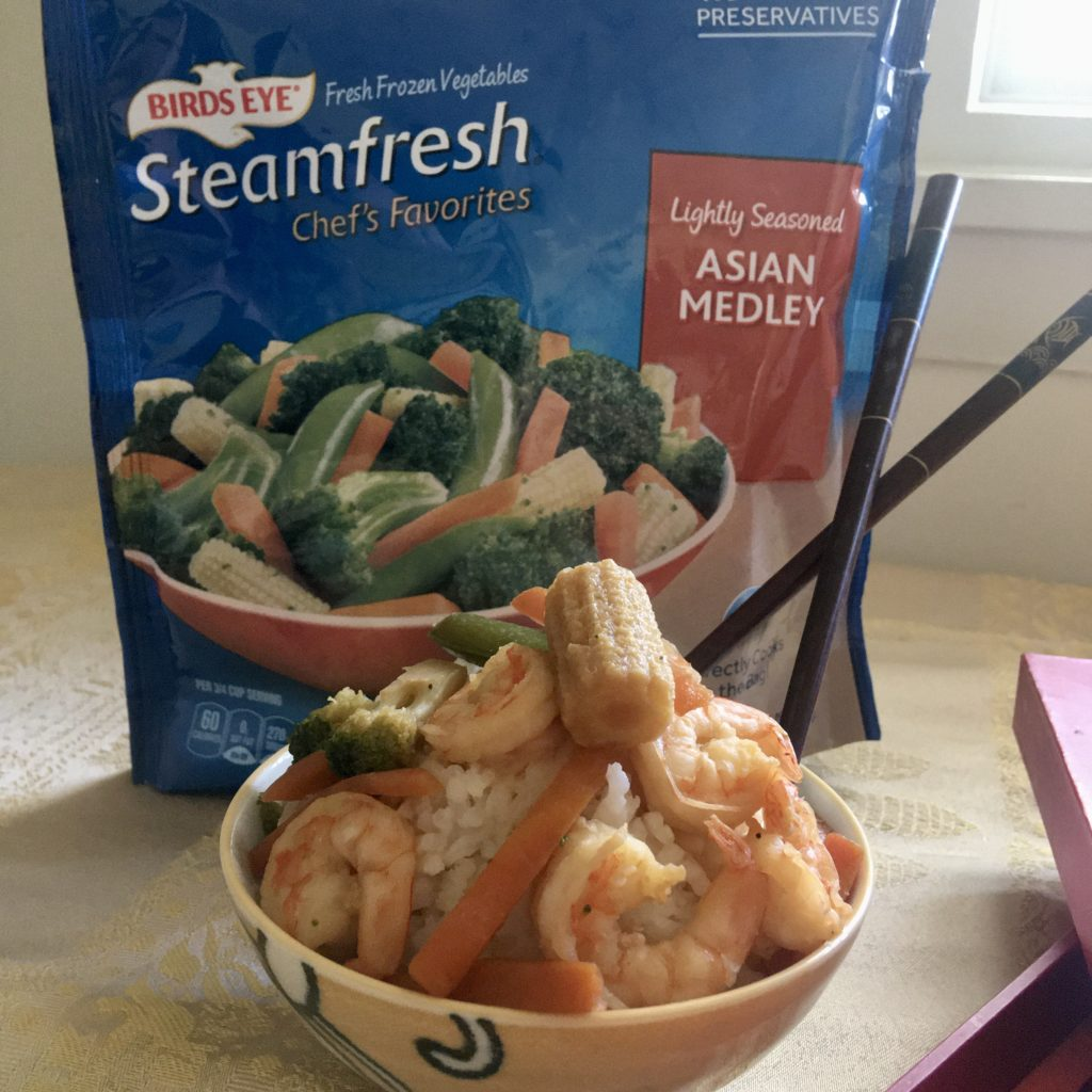 Teriyaki Shrimp Stir Fry cooks up in under 30 minutes